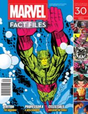 Marvel Fact Files #30 Eaglemoss Publications